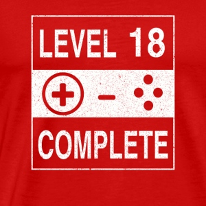 Level 18 Complete - Men's Premium T-Shirt