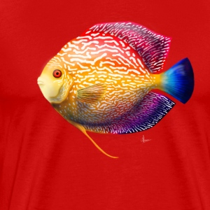 Discus Fish - Men's Premium T-Shirt