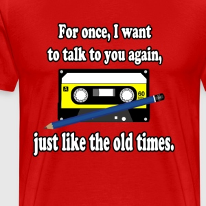 Old times - Men's Premium T-Shirt