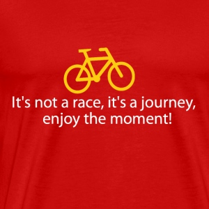 enjoy with you'r bicycle - Men's Premium T-Shirt