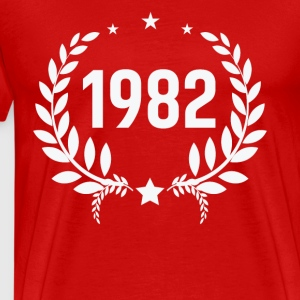 Born in 1982 - Men's Premium T-Shirt