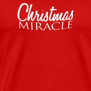 Christmas Miracle - Men's Premium T-Shirt