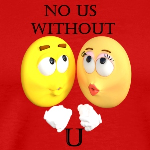 No Us Without U - Men's Premium T-Shirt