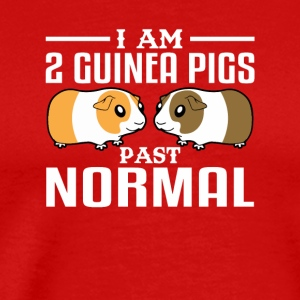 Im 2 Guinea Pig Past Normal Guinea Pigs - Men's Premium T-Shirt