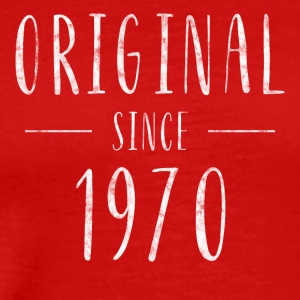 Original since 1970 distressed - Born in 1970 - Men's Premium T-Shirt