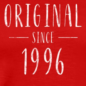 Original since 1996 distressed - Born in 1996 - Men's Premium T-Shirt