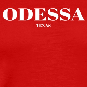 TEXAS ODESSA US DESIGNER EDITION - Men's Premium T-Shirt