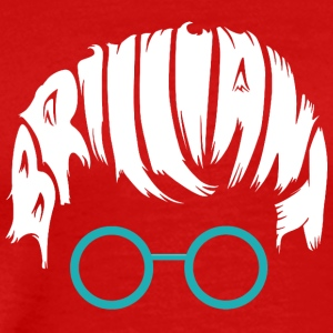 Brilliant Head with glases - Men's Premium T-Shirt