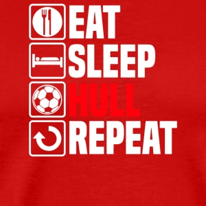 Eat Sleep Hull - Men's Premium T-Shirt