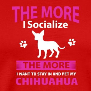 Funny Chihuahua designs - Men's Premium T-Shirt