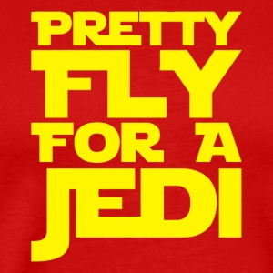 Pretty Fly For A Jedi - Men's Premium T-Shirt