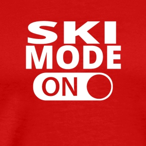 MODE ON SKI - Men's Premium T-Shirt