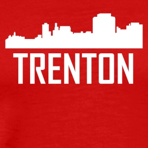 Trenton New Jersey City Skyline - Men's Premium T-Shirt