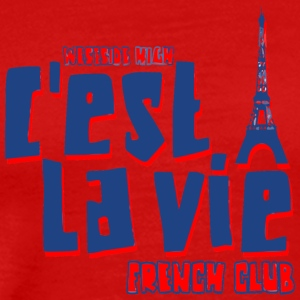 Westside High C est La Vie French Club - Men's Premium T-Shirt
