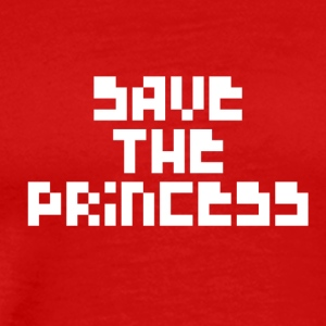 Save The Princess - Men's Premium T-Shirt