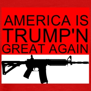 Trump pro guns - Men's Premium T-Shirt
