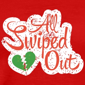 All Swiped Out - Men's Premium T-Shirt