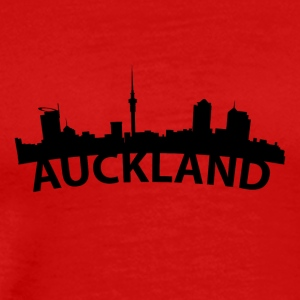 Arc Skyline Of Auckland New Zealand - Men's Premium T-Shirt