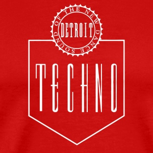 Bargain The New Dance Sound Detroit Techno - Men's Premium T-Shirt