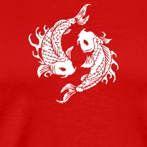 Koi Coy Fish - Men's Premium T-Shirt