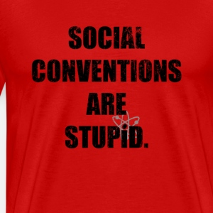 Social Conventions Are Stupid - The Big Bang Theory | Robot Plunger