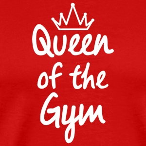 Queen of the Gym - Men's Premium T-Shirt