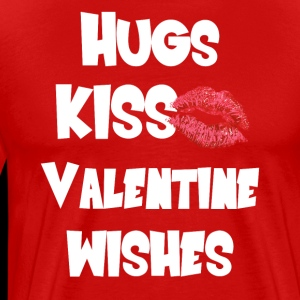 Hugs and Kisses Valentine T Shirt Funny