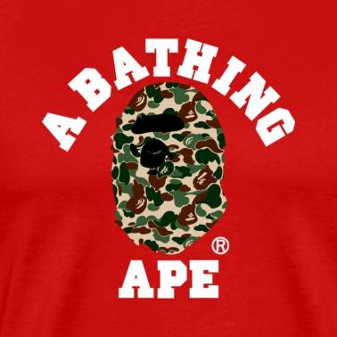 5d269d71 BAPE A BATHING APE Unisex Tri-Blend T-Shirt | Spreadshirt
