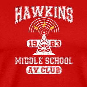 Stranger Things Tee - Hawkins AV Club