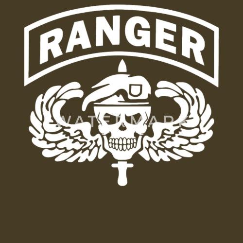 Us Army Ranger Skull By Maniac Melodic Spreadshirt