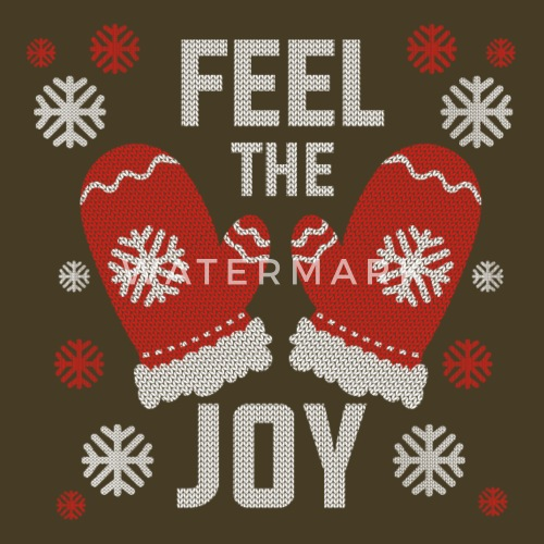 do you want to edit the design - Feel The Joy Christmas Sweater