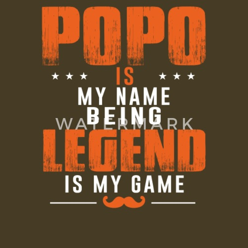 popo christmas gift idea grandpa papa the legend by hotsellingshirt spreadshirt - Christmas Gift Ideas For Grandpa