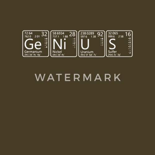 Funny Genius Advanced Chemistry Periodic Table T Shirt By Spreadshirt