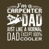 CARPENTER DAD LOVE - Men's Premium T-Shirt