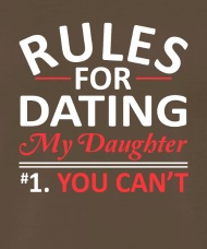 Graphic design text rules for dating