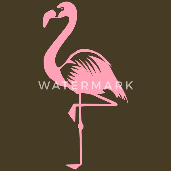 Pink Flamingo Bird Tropical Jungle Print Scarf Mothers Day Gift 50th Birthday