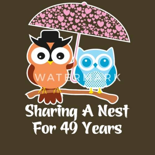 49 Years Wedding Anniversary Gifts Presents By Ilovemytshirt Spreadshirt