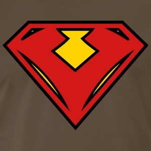Vegan superhero - Red - Men's Premium T-Shirt
