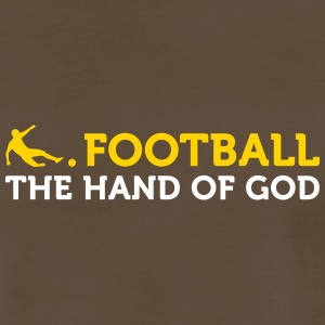 Football Quotes: The Hand Of God - Men's Premium T-Shirt