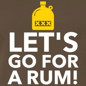 Let's Drink Rum! - Men's Premium T-Shirt