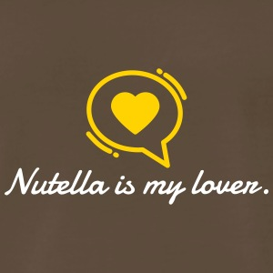 Nutella Is My Lover - Men's Premium T-Shirt