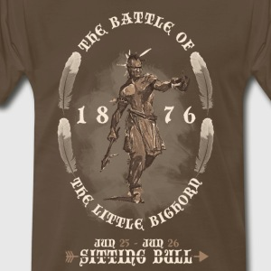 Battle of the Little Bighorn 1876 - Men's Premium T-Shirt