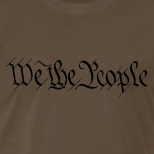 We The People, U.S. Constitution - Men's Premium T-Shirt