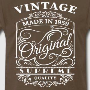 Vintage Made in 1959 Original - Men's Premium T-Shirt