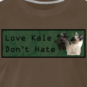 Love Kale Don't Hate - Men's Premium T-Shirt
