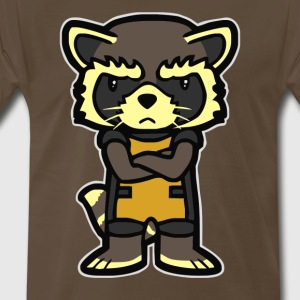 Raccoon Cyber System - Men's Premium T-Shirt