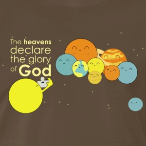 The heavens declare the glory of God - Men's Premium T-Shirt