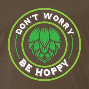 Don't Worry, Be Hoppy! - Men's Premium T-Shirt