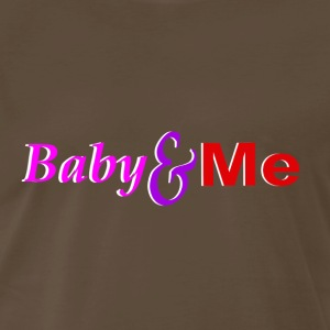 Baby and Me Logo - Men's Premium T-Shirt