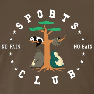 Sports Club is this - Men's Premium T-Shirt